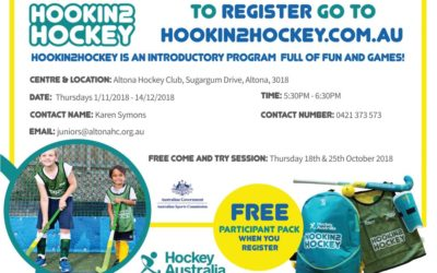 Come & Try, Hookin2Hockey and Summer Games