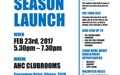 Juniors Season Launch